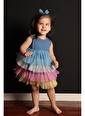 Colorinas Rainbow Baby Elbise Mavi Mavi